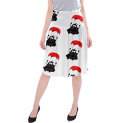 Pattern Sheep Parachute Children Midi Beach Skirt