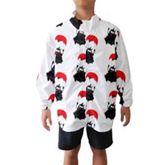 Pattern Sheep Parachute Children Wind Breaker (kids)