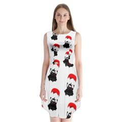 Pattern Sheep Parachute Children Sleeveless Chiffon Dress