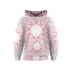 Spirograph Pattern Drawing Design Kids  Pullover Hoodie