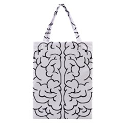 Brain Mind Gray Matter Thought Classic Tote Bag