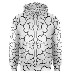 Brain Mind Gray Matter Thought Men s Pullover Hoodie