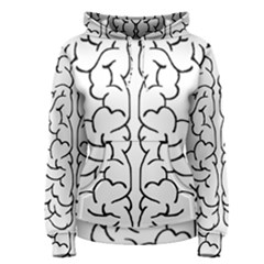 Brain Mind Gray Matter Thought Women s Pullover Hoodie