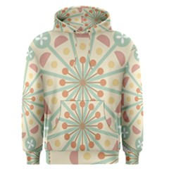 Blue Circle Ornaments Men s Pullover Hoodie