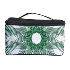 Spirograph Pattern Circle Design Cosmetic Storage Case