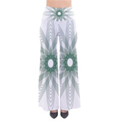 Spirograph Pattern Circle Design Pants