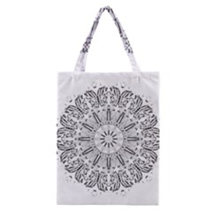 Art Coloring Flower Page Book Classic Tote Bag