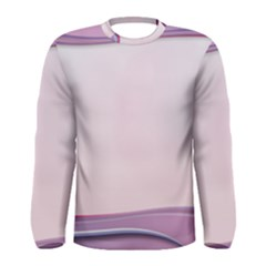 Background Image Greeting Card Heart Men s Long Sleeve Tee