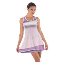 Background Image Greeting Card Heart Cotton Racerback Dress