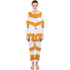Think Switch Arrows Rethinking Hooded Jumpsuit (Ladies)