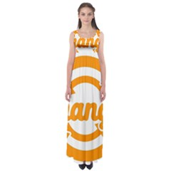 Think Switch Arrows Rethinking Empire Waist Maxi Dress