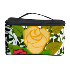 Roses Flowers Floral Flowery Cosmetic Storage Case