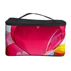 Heart Red Love Valentine S Day Cosmetic Storage Case