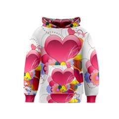 Heart Red Love Valentine S Day Kids  Pullover Hoodie