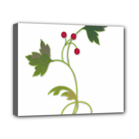Element Tag Green Nature Canvas 10  X 8