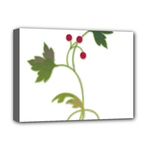 Element Tag Green Nature Deluxe Canvas 16  x 12