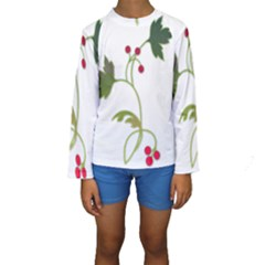 Element Tag Green Nature Kids  Long Sleeve Swimwear
