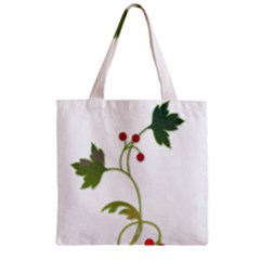 Element Tag Green Nature Zipper Grocery Tote Bag