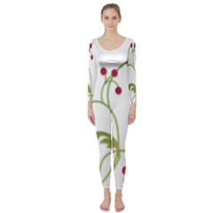 Element Tag Green Nature Long Sleeve Catsuit