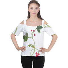 Element Tag Green Nature Women s Cutout Shoulder Tee