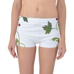 Element Tag Green Nature Reversible Bikini Bottoms