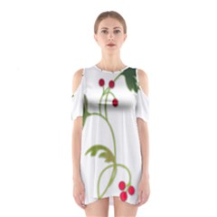 Element Tag Green Nature Shoulder Cutout One Piece