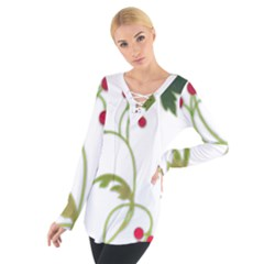 Element Tag Green Nature Women s Tie Up Tee