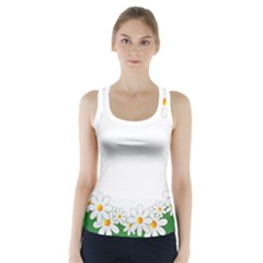 Photo Frame Love Holiday Racer Back Sports Top