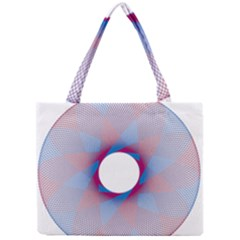 Spirograph Pattern Drawing Design Mini Tote Bag