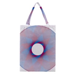 Spirograph Pattern Drawing Design Classic Tote Bag