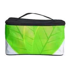 Leaves Green Nature Reflection Cosmetic Storage Case