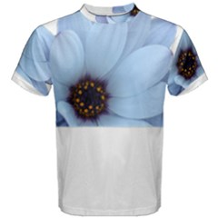 Daisy Flower Floral Plant Summer Men s Cotton Tee