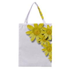 Flowers Spring Yellow Spring Onion Classic Tote Bag