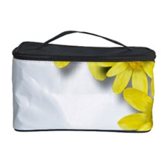 Flowers Spring Yellow Spring Onion Cosmetic Storage Case