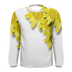 Flowers Spring Yellow Spring Onion Men s Long Sleeve Tee