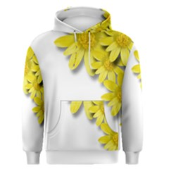 Flowers Spring Yellow Spring Onion Men s Pullover Hoodie