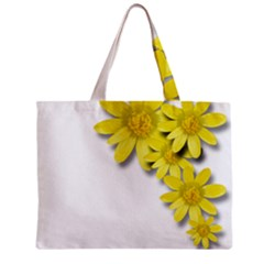 Flowers Spring Yellow Spring Onion Zipper Mini Tote Bag