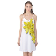 Flowers Spring Yellow Spring Onion Camis Nightgown