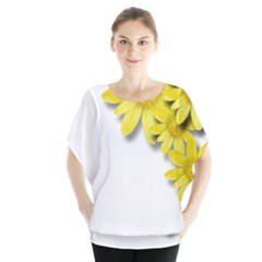 Flowers Spring Yellow Spring Onion Blouse