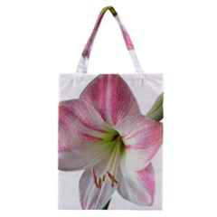 Flower Blossom Bloom Amaryllis Classic Tote Bag
