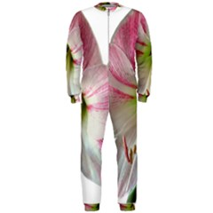 Flower Blossom Bloom Amaryllis Onepiece Jumpsuit (men)