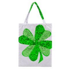 St Patricks Day Shamrock Green Classic Tote Bag