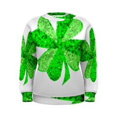 St Patricks Day Shamrock Green Women s Sweatshirt