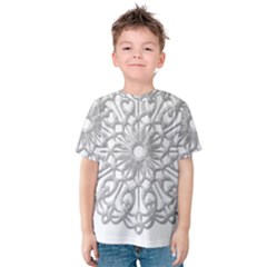 Scrapbook Side Lace Tag Element Kids  Cotton Tee