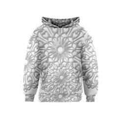 Scrapbook Side Lace Tag Element Kids  Pullover Hoodie