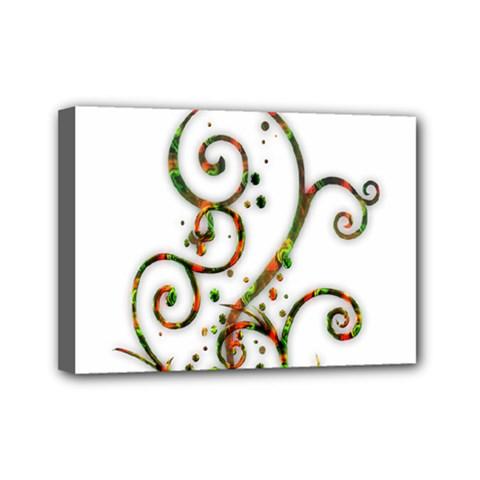 Scroll Magic Fantasy Design Mini Canvas 7  X 5