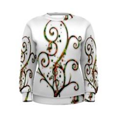Scroll Magic Fantasy Design Women s Sweatshirt