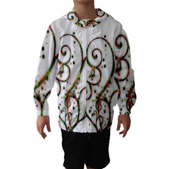 Scroll Magic Fantasy Design Hooded Wind Breaker (kids)