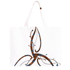 Abstract Shape Stylized Designed Large Tote Bag