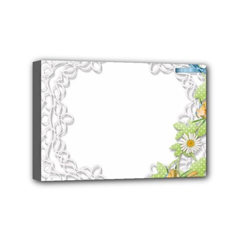 Scrapbook Element Lace Embroidery Mini Canvas 6  X 4